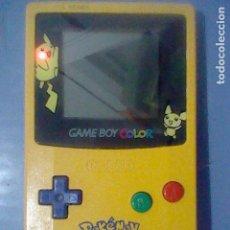 Videojuegos y Consolas: POKEMON PIKACHU PICACHU GBC COLOR GAMEBOY FUNCIONANDO LEER CBG-001. Lote 157946370