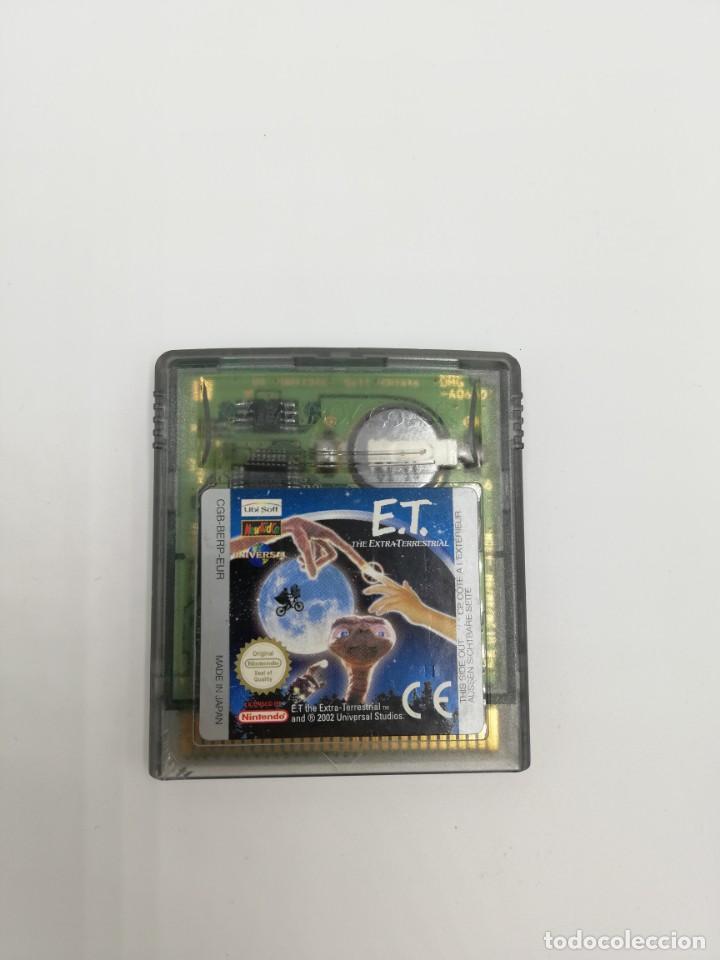 E.T GAME BOY COLOR NINTENDO (Juguetes - Videojuegos y Consolas - Nintendo - GameBoy Color)