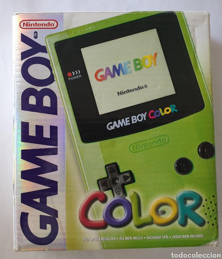 GAME BOY COLOR (Juguetes - Videojuegos y Consolas - Nintendo - GameBoy Color)