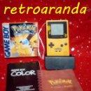 Videojuegos y Consolas: GAME BOY COLOR - AMARILLA/AZUL *CON JUEGO: POKEMON PICACHU*. Lote 165412082