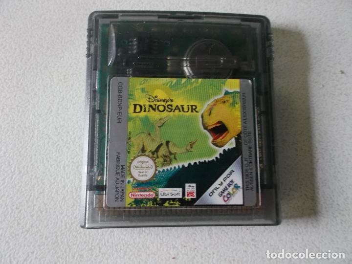 Videojuegos y Consolas: Juego DINOSAUR para GAMEBOY - GAME BOY COLOR - GB, - Foto 2 - 165462530