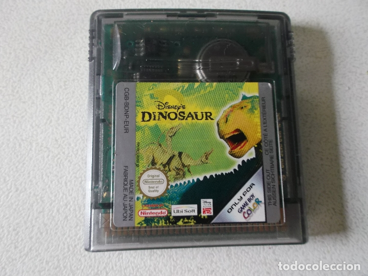 JUEGO DINOSAUR PARA GAMEBOY - GAME BOY COLOR - GB, FUNCIONANDO (Juguetes - Videojuegos y Consolas - Nintendo - GameBoy Color)