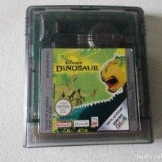Videojuegos y Consolas: JUEGO DINOSAUR PARA GAMEBOY - GAME BOY COLOR - GB, FUNCIONANDO. Lote 165462530