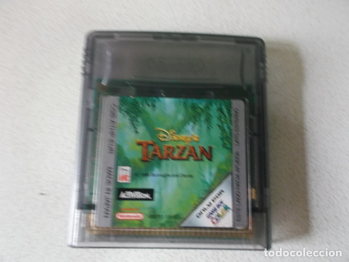 Videojuegos y Consolas: JUEGO TARZAN NINTENDO GAME BOY COLOR, - Foto 2 - 175309134