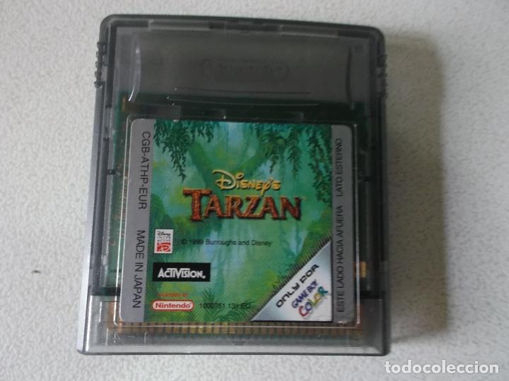 JUEGO TARZAN NINTENDO GAME BOY COLOR, (Juguetes - Videojuegos y Consolas - Nintendo - GameBoy Color)