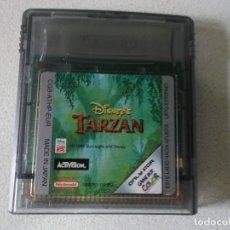 Videojuegos y Consolas: JUEGO TARZAN NINTENDO GAME BOY COLOR, FUNCIONANDO. Lote 175309134