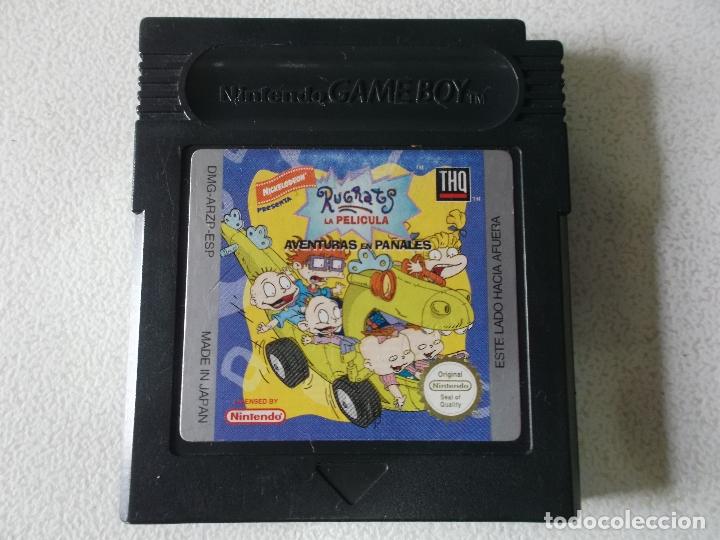 Videojuegos y Consolas: rugrats game boy color, españa, funcionando - Foto 2 - 165465786