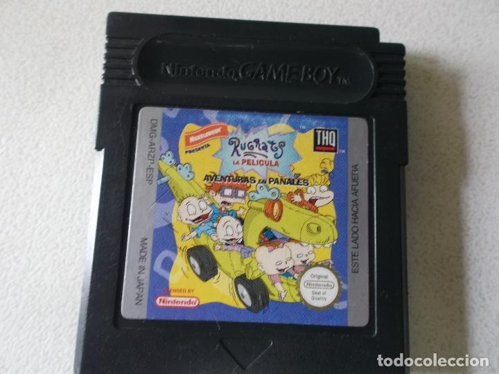 Videojuegos y Consolas: rugrats game boy color, españa, funcionando - Foto 4 - 165465786