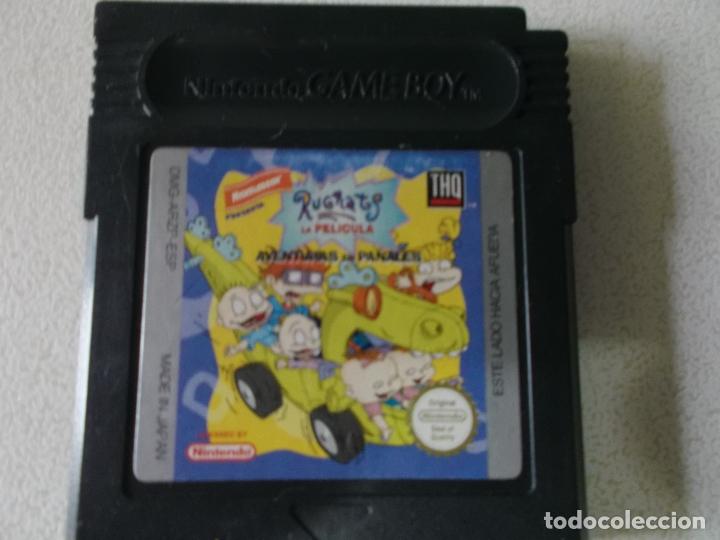 RUGRATS GAME BOY COLOR, ESPAÑA, FUNCIONANDO (Juguetes - Videojuegos y Consolas - Nintendo - GameBoy Color)