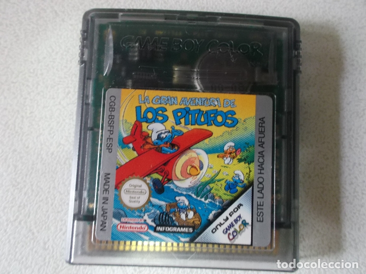 Videojuegos y Consolas: La Gran Aventura de Los Pitufos Nintendo Game Boy Color, - Foto 2 - 165474390