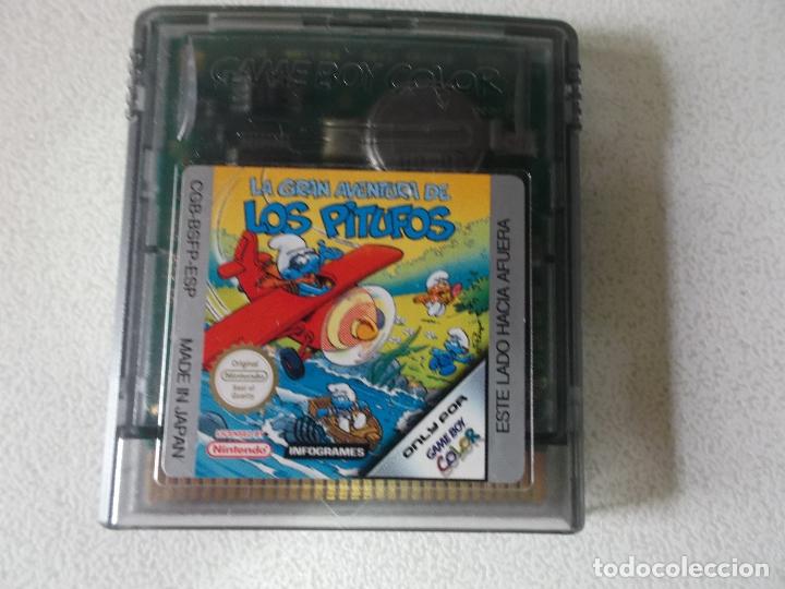 LA GRAN AVENTURA DE LOS PITUFOS NINTENDO GAME BOY COLOR, (Juguetes - Videojuegos y Consolas - Nintendo - GameBoy Color)