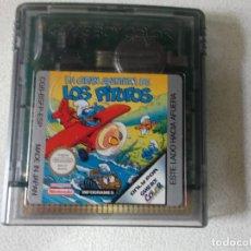 Videojuegos y Consolas: LA GRAN AVENTURA DE LOS PITUFOS NINTENDO GAME BOY COLOR, FUNCIONA. Lote 165474390
