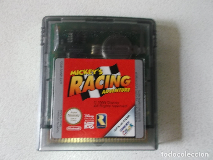 Videojuegos y Consolas: JUEGO MICKEY´S RACING ADVENTURE NINTENDO GAME BOY COLOR, - Foto 2 - 165475342