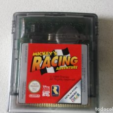 Videojuegos y Consolas: JUEGO MICKEY´S RACING ADVENTURE NINTENDO GAME BOY COLOR, FUNCIONA. Lote 165475342
