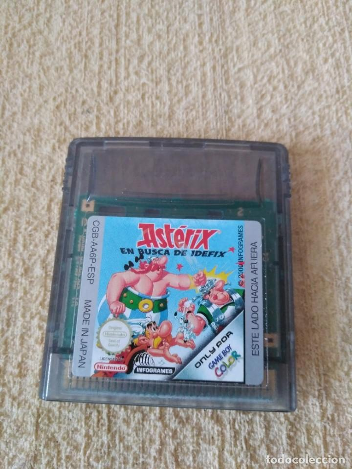 JUEGO GAMEBOY COLOR ASTERIX (Juguetes - Videojuegos y Consolas - Nintendo - GameBoy Color)