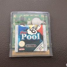 Videojuegos y Consolas: JUEGO POOL GAMEBOY COLOR EN BUEN ESTADO GAME BOY. Lote 167072762