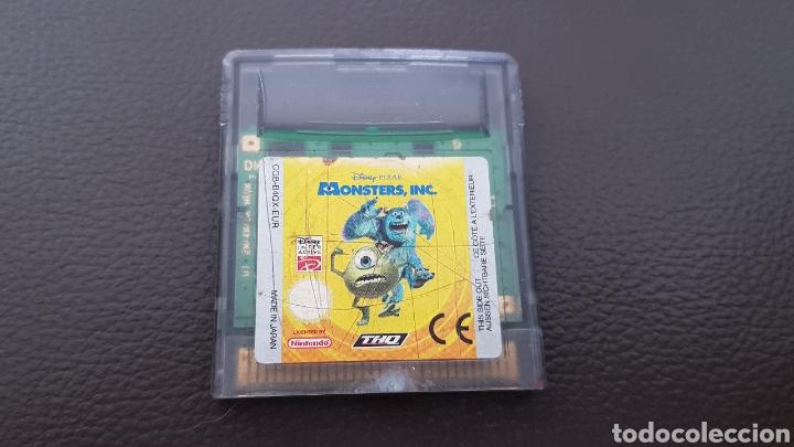 JUEGO DISNEY PIXAR MONSTERS INC. NINTENDO GAMEBOY COLOR (Juguetes - Videojuegos y Consolas - Nintendo - GameBoy Color)