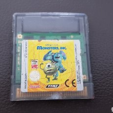 Videojuegos y Consolas: JUEGO DISNEY PIXAR MONSTERS INC. NINTENDO GAMEBOY COLOR. Lote 167077444