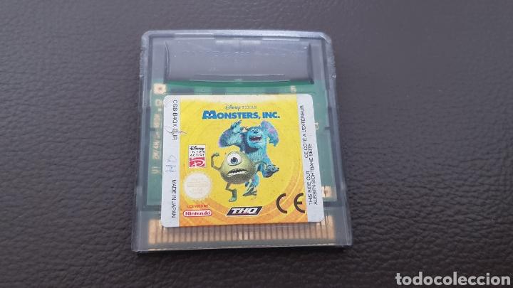 NINTENDO GAMEBOY COLOR MONSTERS INC. DISNEY PIXAR (Juguetes - Videojuegos y Consolas - Nintendo - GameBoy Color)