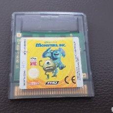 Videojuegos y Consolas: NINTENDO GAMEBOY COLOR MONSTERS INC. DISNEY PIXAR. Lote 167086506
