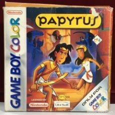 Videojuegos y Consolas: JUEGO GAME BOY COLOR PAPYRUS. Lote 167797049