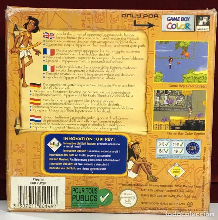 Videojuegos y Consolas: Juego GAME BOY COLOR PAPYRUS - Foto 3 - 167797049