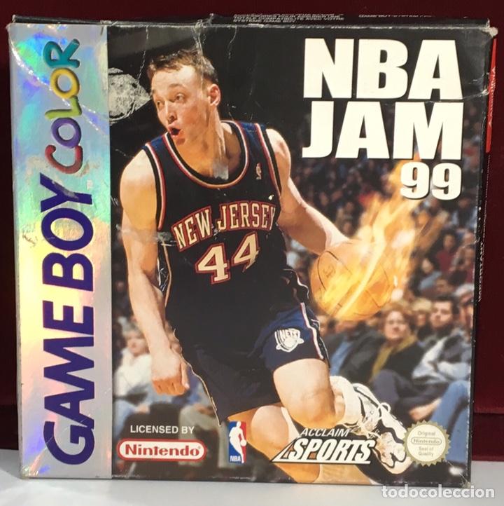 JUEGO GAME BOY COLOR NBA JAM 99 (Juguetes - Videojuegos y Consolas - Nintendo - GameBoy Color)