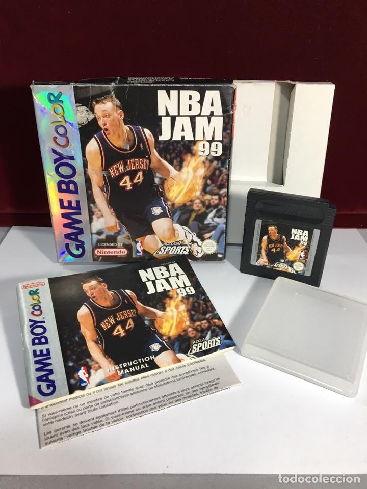 Videojuegos y Consolas: Juego GAME BOY COLOR NBA JAM 99 - Foto 2 - 167797585