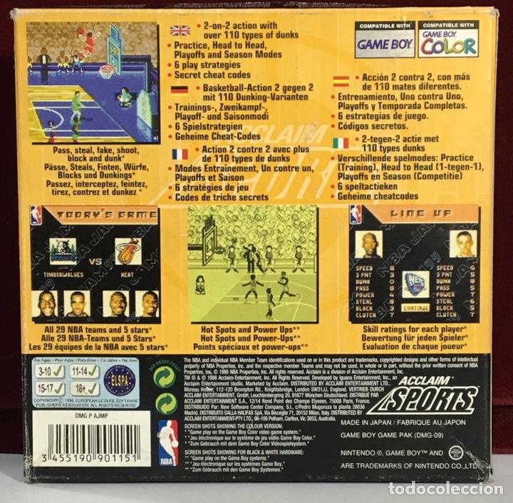 Videojuegos y Consolas: Juego GAME BOY COLOR NBA JAM 99 - Foto 3 - 167797585