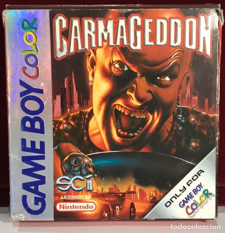 JUEGOS GAME BOY COLOR CARMAGEDDON (Juguetes - Videojuegos y Consolas - Nintendo - GameBoy Color)