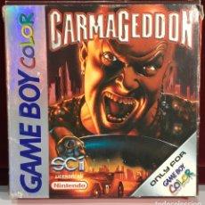 Videojuegos y Consolas: JUEGOS GAME BOY COLOR CARMAGEDDON. Lote 167798248