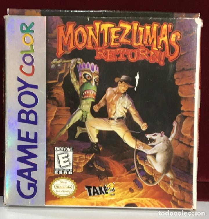 JUEGO GAME BOY COLOR MONTEZUMA'S RETURN (Juguetes - Videojuegos y Consolas - Nintendo - GameBoy Color)