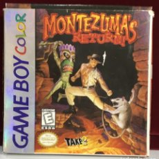 Videogiochi e Consoli: JUEGO GAME BOY COLOR MONTEZUMA'S RETURN. Lote 167798930