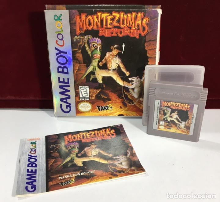 Videojuegos y Consolas: Juego GAME BOY COLOR MONTEZUMA'S RETURN - Foto 2 - 167798930