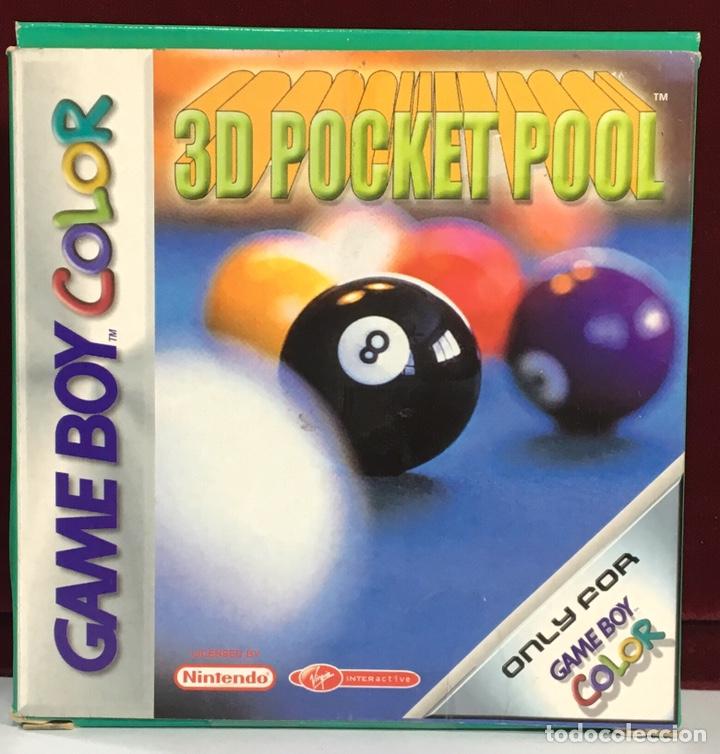 JUEGO GAME BOY COLOR 3D POCKET POOL (Juguetes - Videojuegos y Consolas - Nintendo - GameBoy Color)