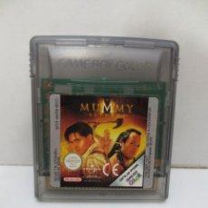 Videojuegos y Consolas: JUEGO NINTENDO GAME BOY COLOR - MUMMY. Lote 168901176