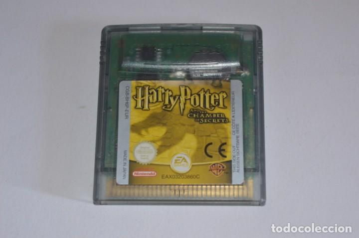 JUEGO NINTENDO GAME BOY COLOR GBC HARRY POTTER Y LA CÁMARA SECRETA AND THE CHAMBER OF SECRETS 2002 (Juguetes - Videojuegos y Consolas - Nintendo - GameBoy Color)