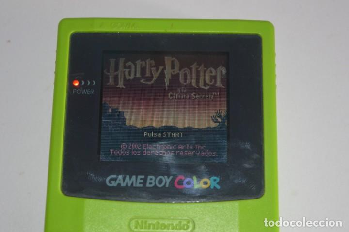 Videojuegos y Consolas: JUEGO NINTENDO GAME BOY COLOR GBC HARRY POTTER Y LA CÁMARA SECRETA AND THE CHAMBER OF SECRETS 2002 - Foto 2 - 169284568