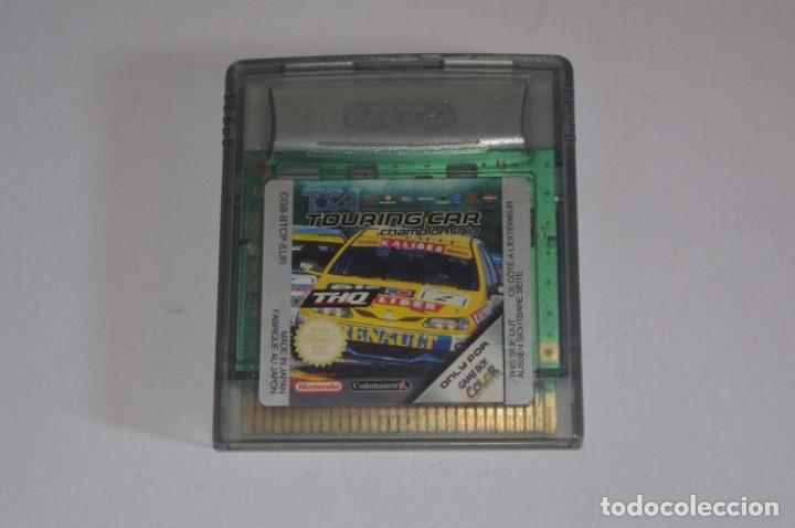 JUEGO NINTENDO GAME BOY COLOR GBC TOCA TOURING CAR CHAMPIONSHIP SIMULADOR CARRERAS DE COCHES (Juguetes - Videojuegos y Consolas - Nintendo - GameBoy Color)