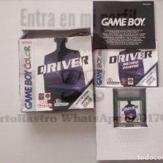 Videojuegos y Consolas: JUEGO DRIVER GAME BOY COLOR. Lote 169765684