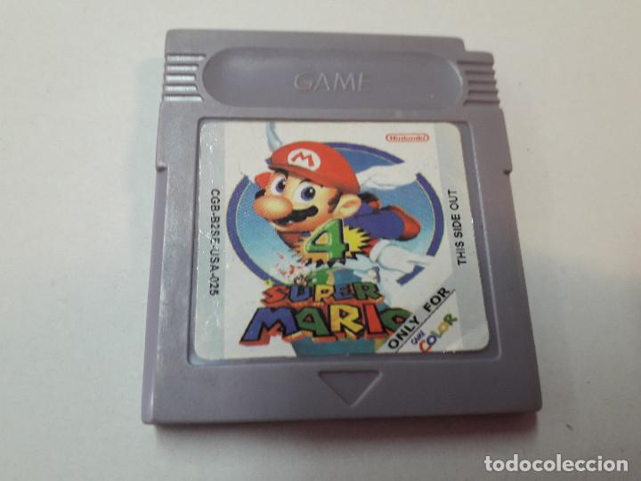 08-00274 GAME BOY COLOR - SUPER MARIO 4 (Juguetes - Videojuegos y Consolas - Nintendo - GameBoy Color)