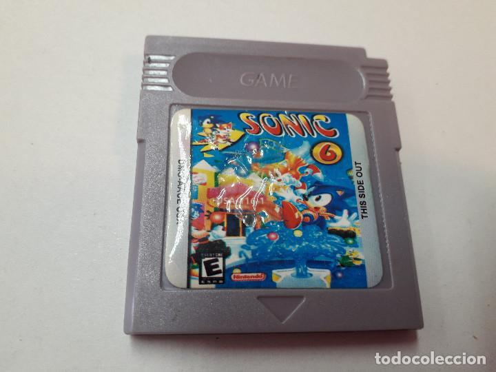 08-00260 GAME BOY COLOR - SONIC 6 (Juguetes - Videojuegos y Consolas - Nintendo - GameBoy Color)