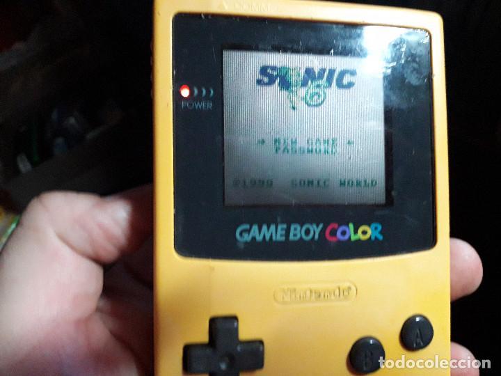 Videojuegos y Consolas: 08-00260 GAME BOY COLOR - SONIC 6 - Foto 2 - 171021620