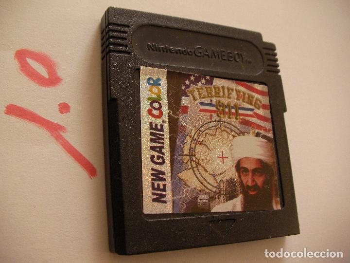 ANTIGUO JUEGO BIN LADEN - TERRORIFICO 11 SEPTIEMBRE (Juguetes - Videojuegos y Consolas - Nintendo - GameBoy Color)