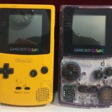 Videojuegos y Consolas: LOTE 2 CONSOLAS GAME BOY COLOR. Lote 171703219
