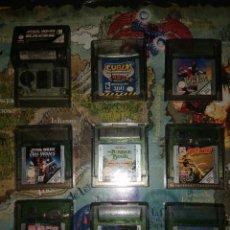 Videojuegos y Consolas: LOTE 9 JUEGOS GAME BOY COLOR.. Lote 171976010