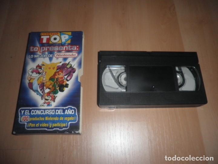 VHS MEGA TOP LO MEJOR DE NINTENDO (Juguetes - Videojuegos y Consolas - Nintendo - GameBoy Color)