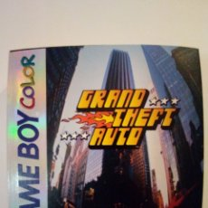 Videojogos e Consolas: JUEGO GAME BOY COLOR-GRAND THEFT AUTO GTA-COMPLETO PAL-CAJA PERFECTA. Lote 192290633