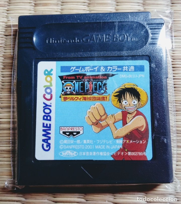 CARTUCHO VIDEOJUEGO GAME BOY. (GAMEBOY) COLOR ONE PIECE. EXCLUSIVO DE JAPÓN. NINTENDO. (Juguetes - Videojuegos y Consolas - Nintendo - GameBoy Color)