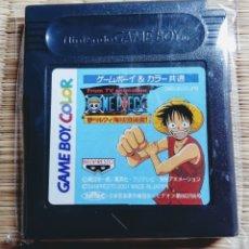 Videojuegos y Consolas: CARTUCHO VIDEOJUEGO CONSOLA GAME BOY. (GAMEBOY) COLOR ONE PIECE. EXCLUSIVO DE JAPÓN. NINTENDO.. Lote 173538410